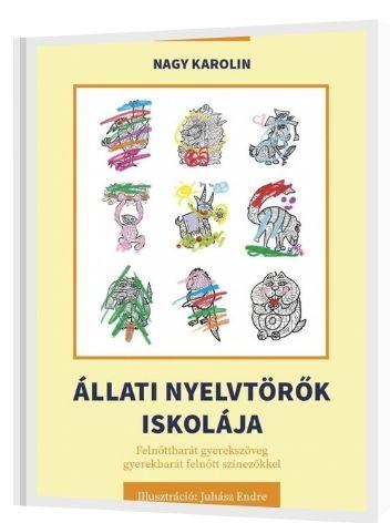 Állati nyelvtörők iskolája - könyvborító referencia