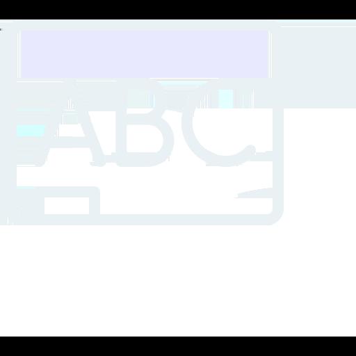Korrektúra és szerkesztés ikon