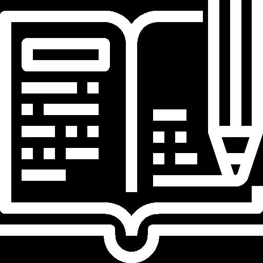 Korrektúra és szerkesztés ikon elemzés