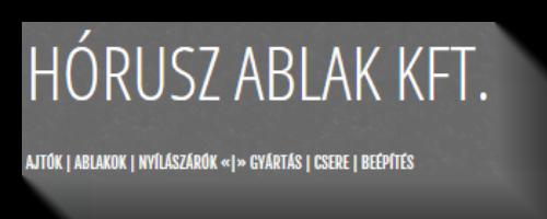 Partneri logók Hórusz Ablak Kft.